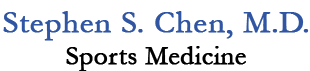 Dr. Stephen S. Chen, MD, Is A Sports Medicine Physician In Walnut Creek, California