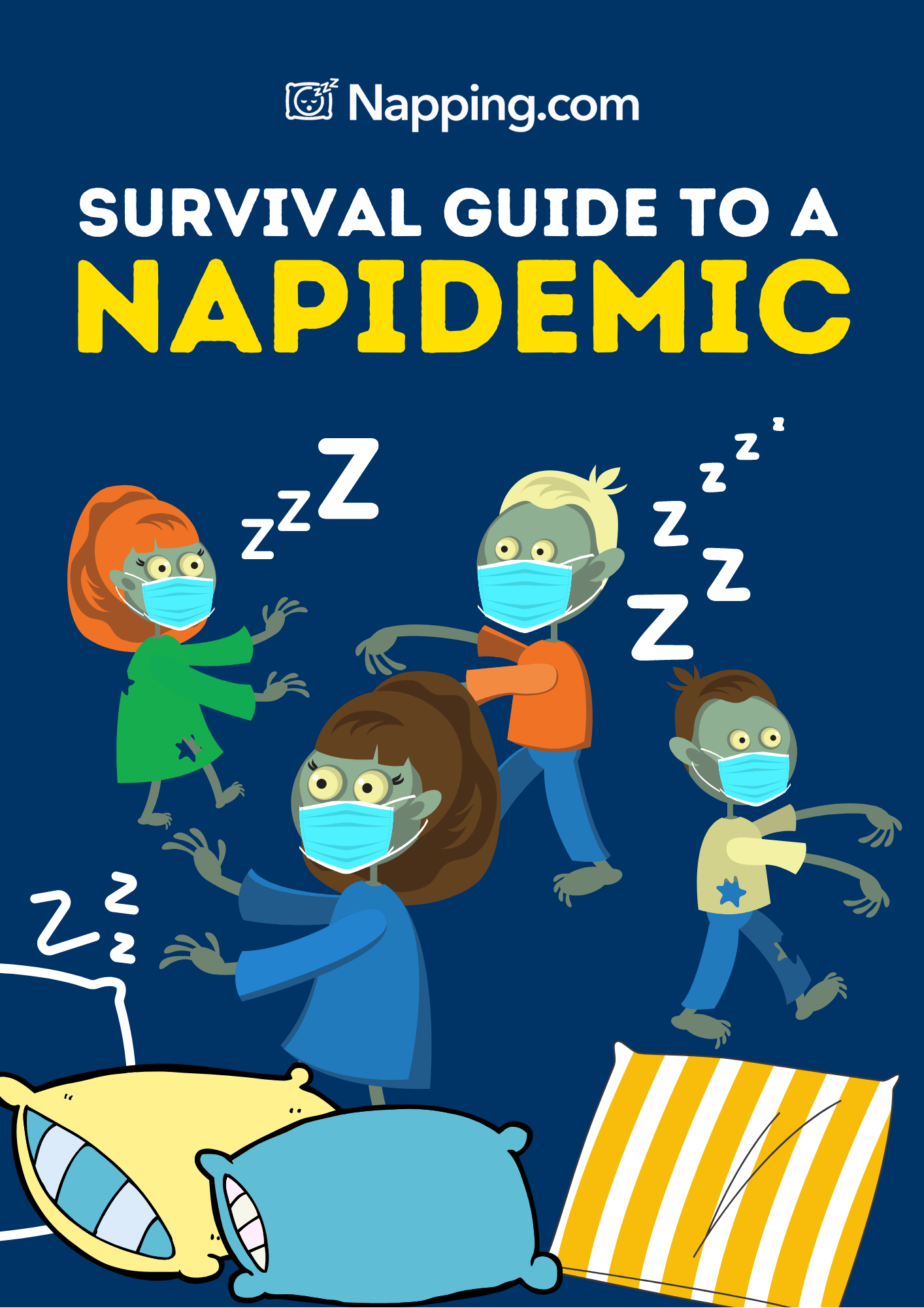 Napping.com Releases 'Survival Guide to a Napidemic' to Provide Tips on Napping Properly