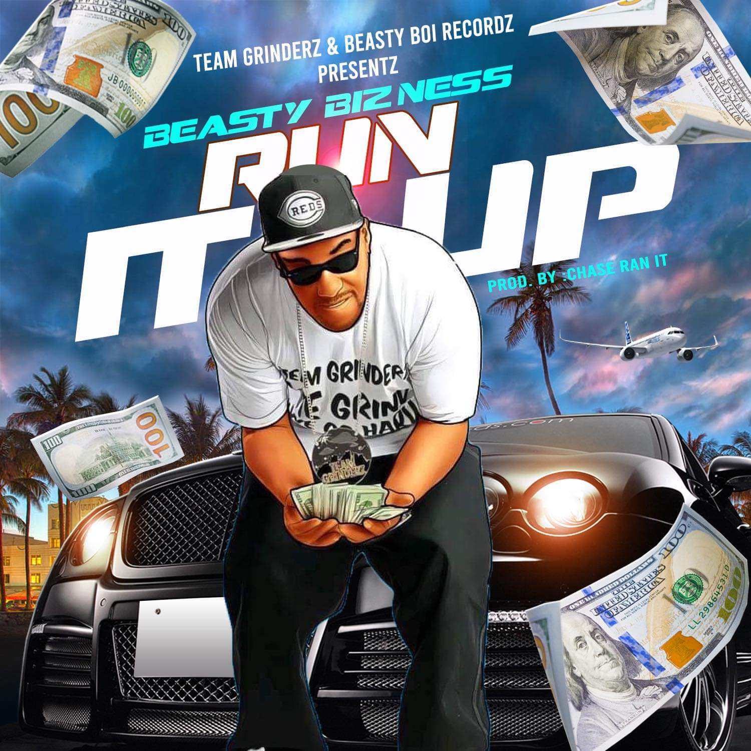 "Beasty Bizness A.K.A T.Beasty, Introduces His Latest Single, ""Run It Up"""
