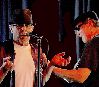 Blessed Acoustic and Blues Right From the Soul: Presenting to the World Papa J & Richard