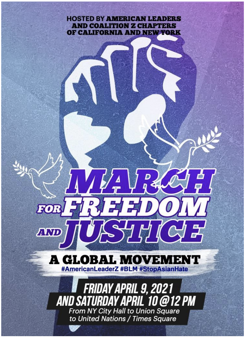 Fernando Lorenzo Organizes 'March for Freedom and Justice' with the Help of American leaders and Coalition Z