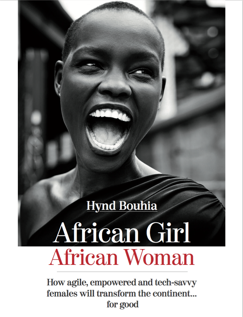 Hynd Bouhia, a renowned author & entrepreneur, just released the first women empowerment book for African women and African girls