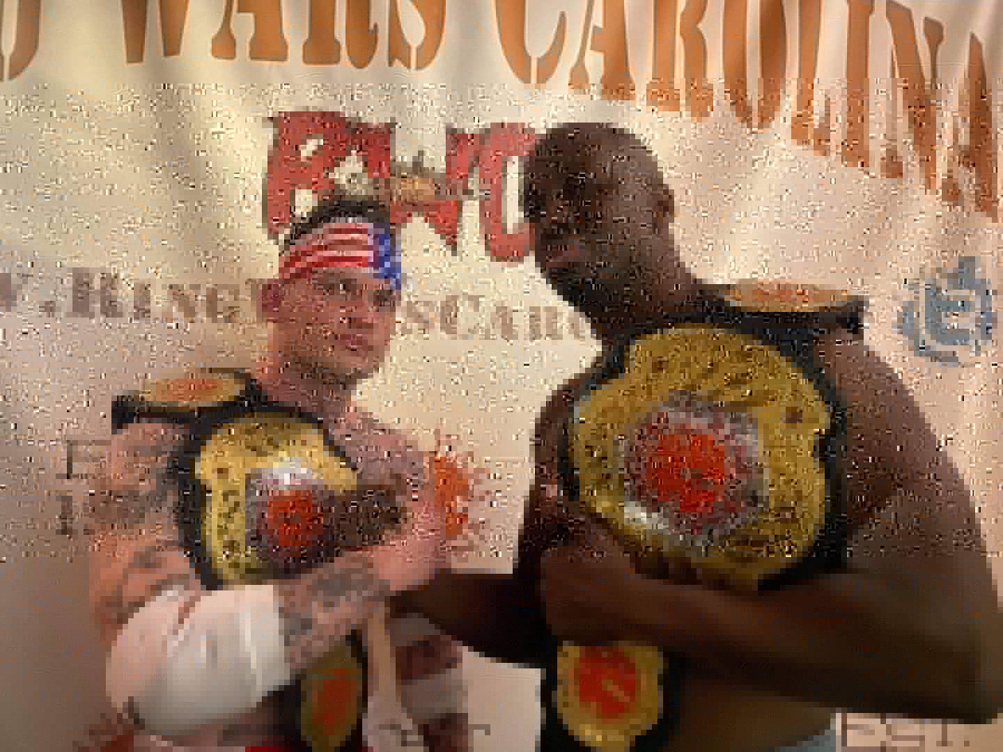 Radio Personality Turned Professional Wrestler Wins Ring Wars Carolina (RWC) Tag Team Championship