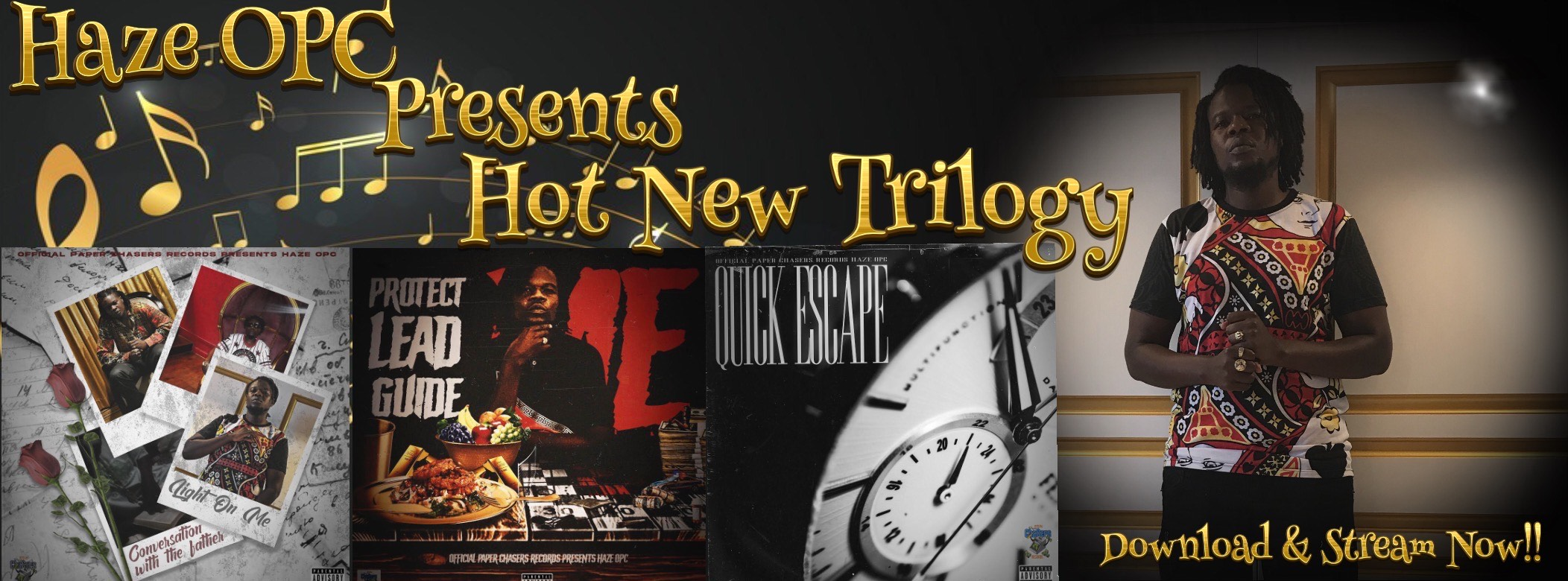 Haze OPC Presents Hot New Trilogy