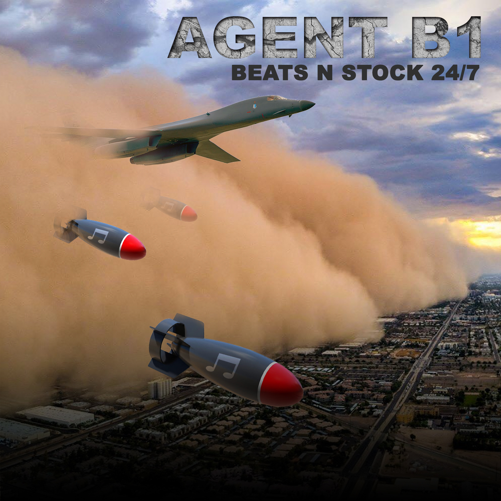 Presenting Agent B1, the New Wave Music Producer