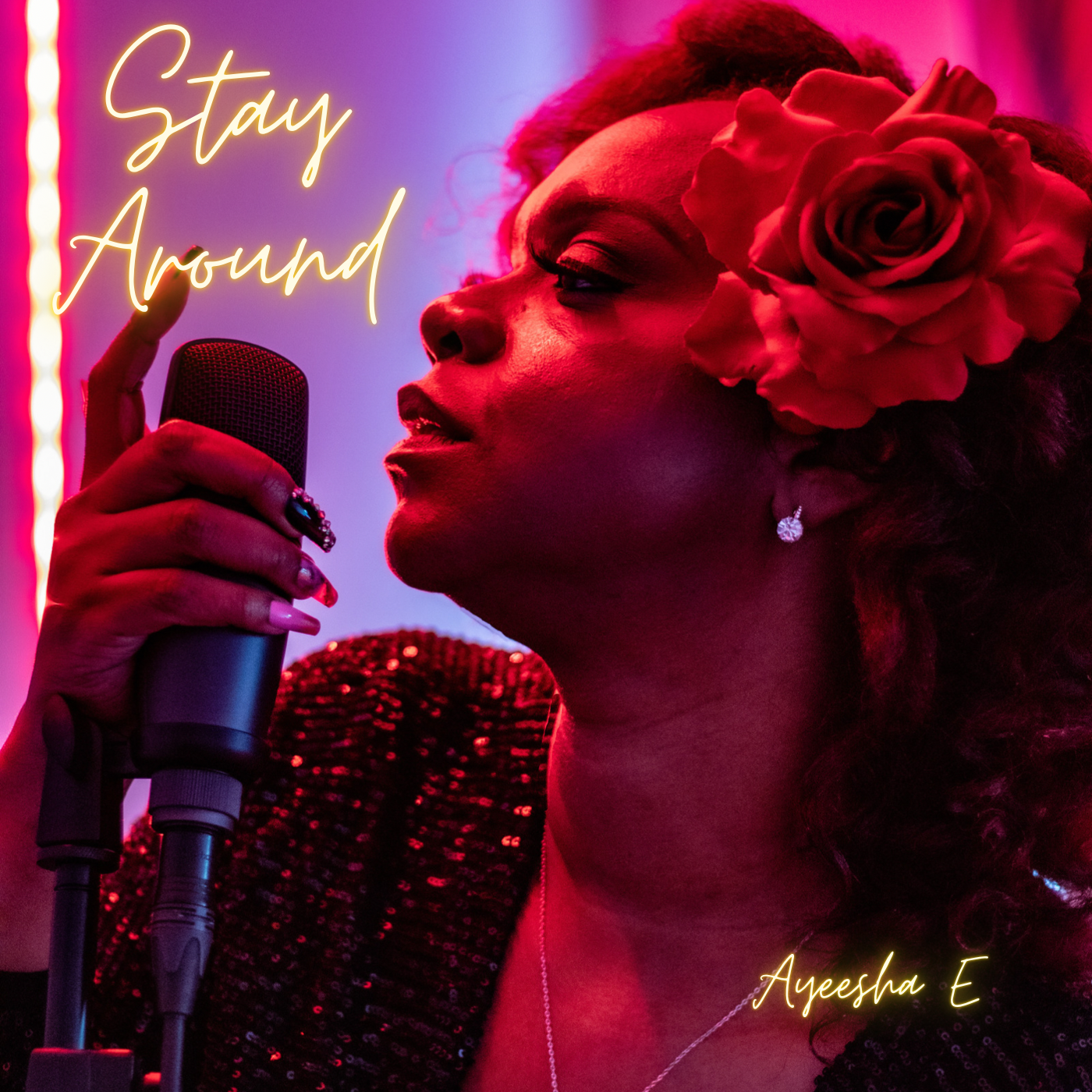 "Ayeesha E Releases Her New Single, ""Stay Around"""