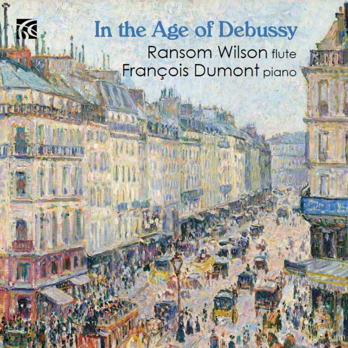Ransom Wilson and François Dumont Release Exciting Debussy CD