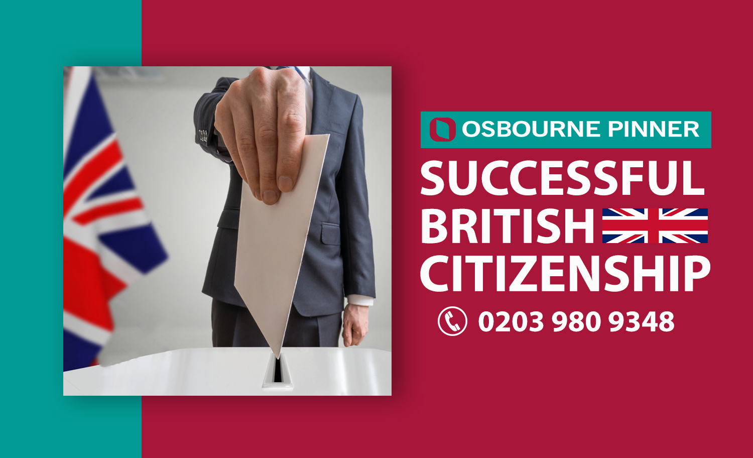 Osbourne Pinner's Another Successful Naturalisation as a British Citizen
