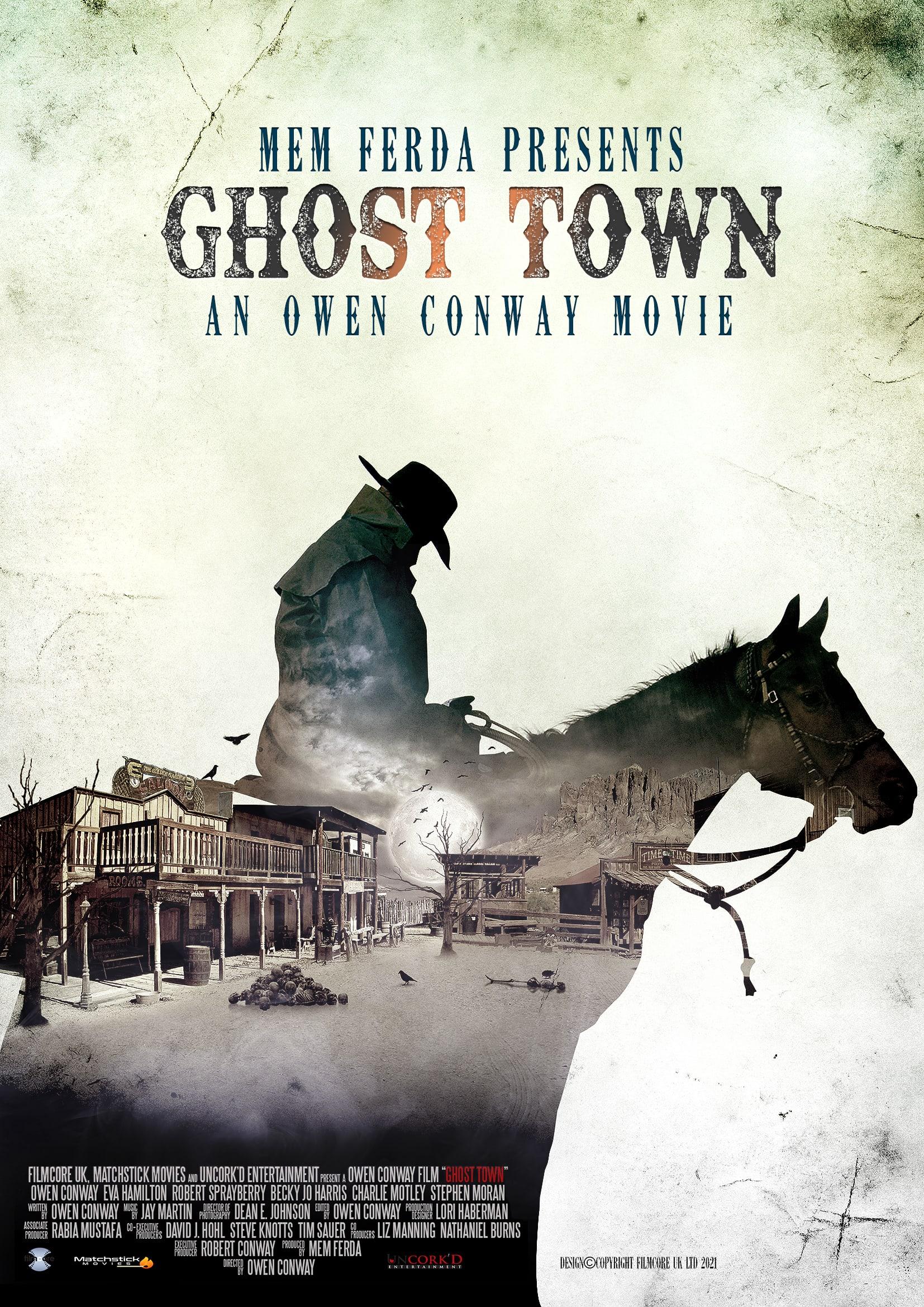 Mem Ferda Pushes the Boundaries of Cinema In New Genre-Bending Masterpiece, 'GHOST TOWN'
