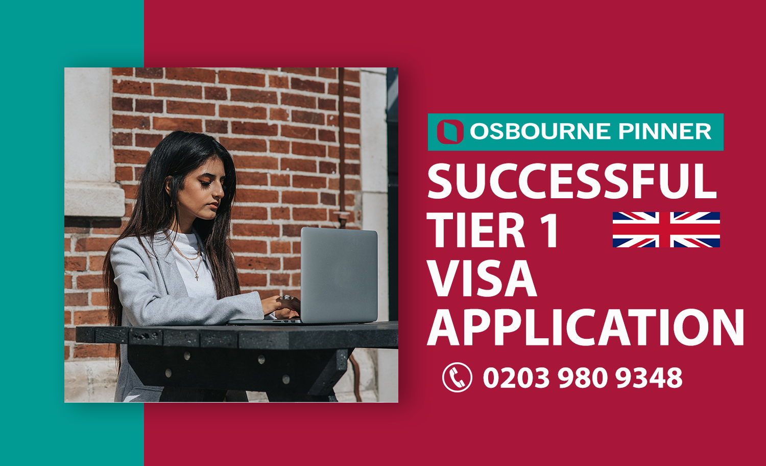 Exceptional Tier 1 Visa - Osbourne Pinner Turns Out the Best Support
