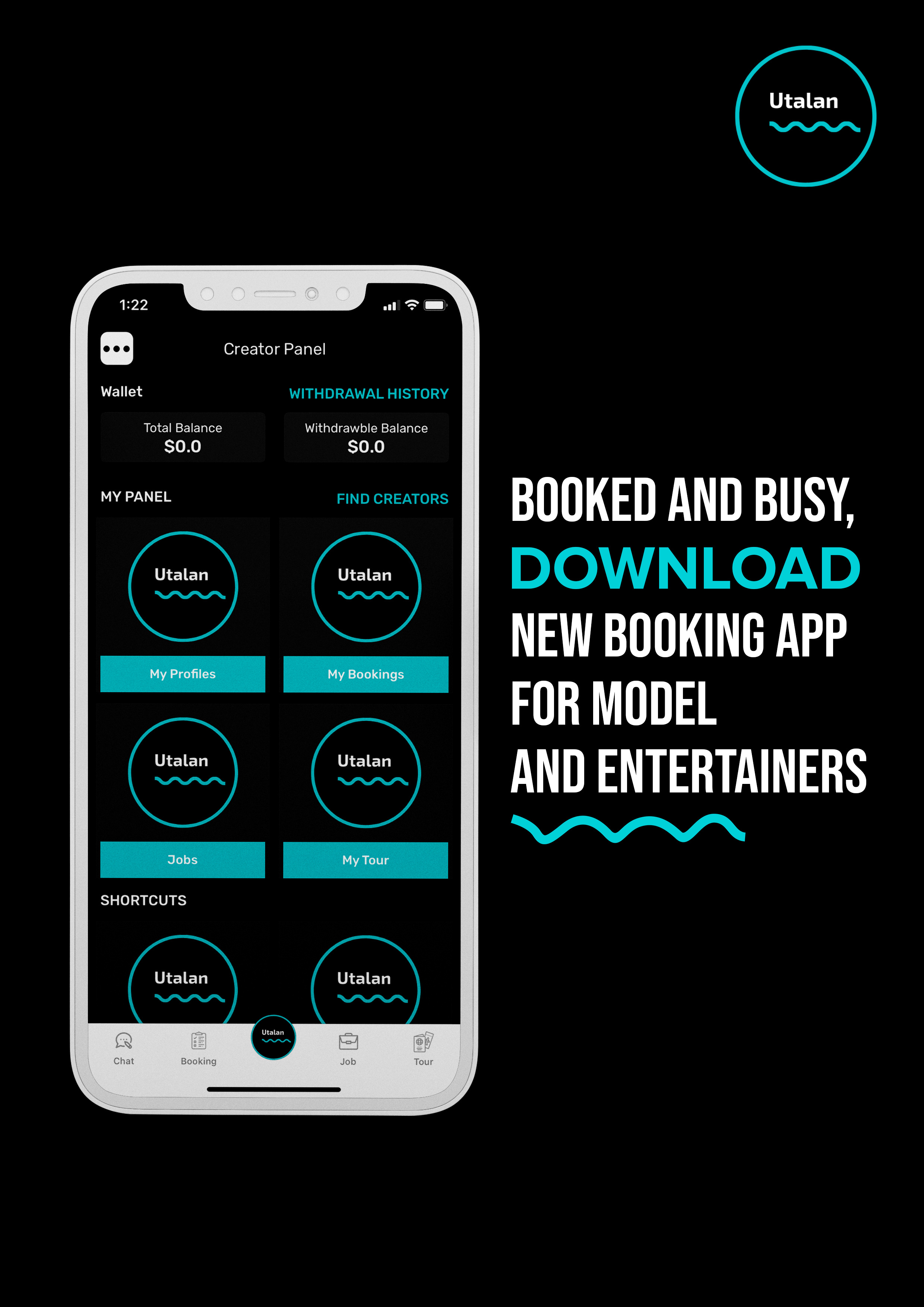 Utalan, a Premier Booking Platform Enabling Success for Creators
