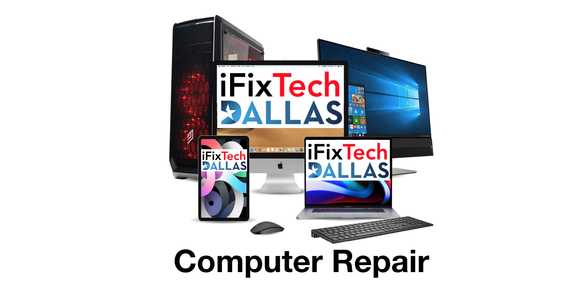 iFix Tech Announces Full Computer, Laptop, and Phone Repair and Recovery Services In Texas