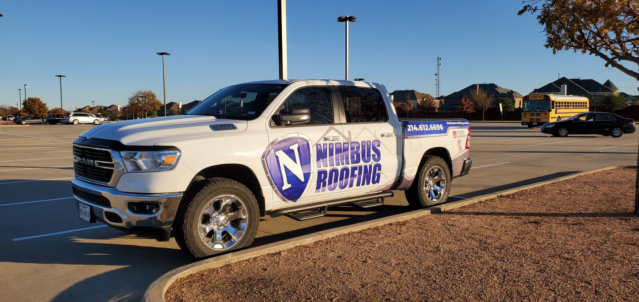 Nimbus Roofing, LLC starts taking orders for spring roof replacement in McKinney, TX.