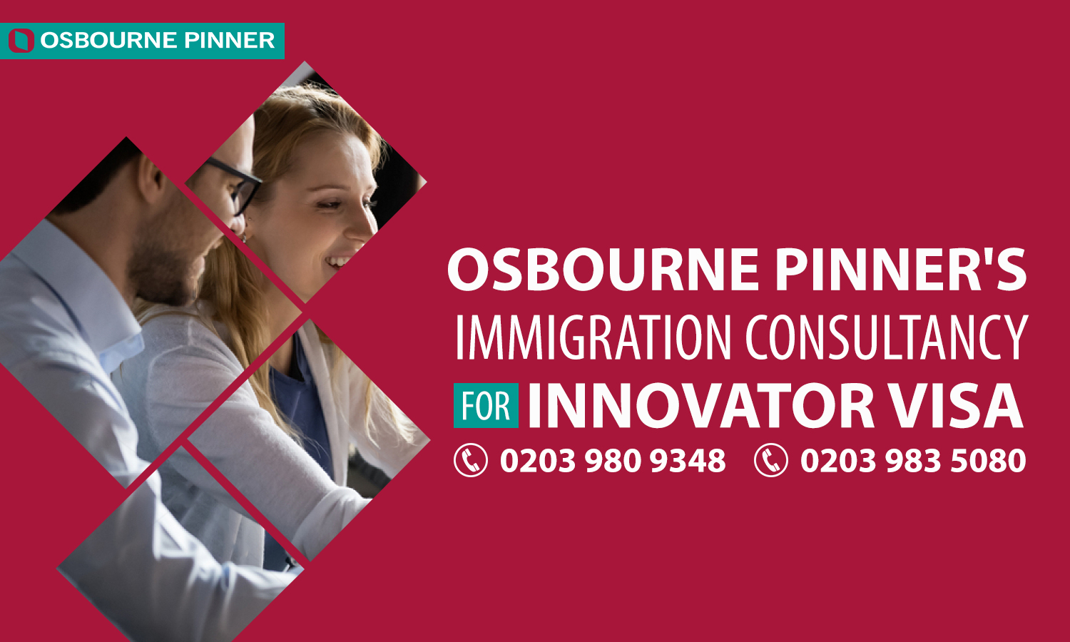 Osbourne Pinner Helps Another Innovator Visa Aspirant