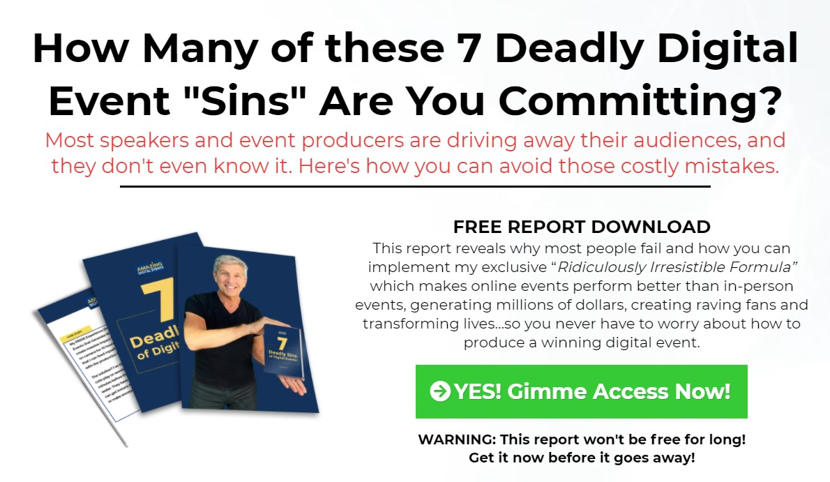 Ken Krell Launches 7 Deadly Sins of Digital Events