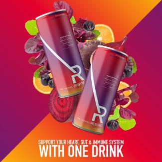 Resync Launches First Groundbreaking Vegan Sparkling Beverage That Provides Heart, Immune And Digestive Health Benefits
