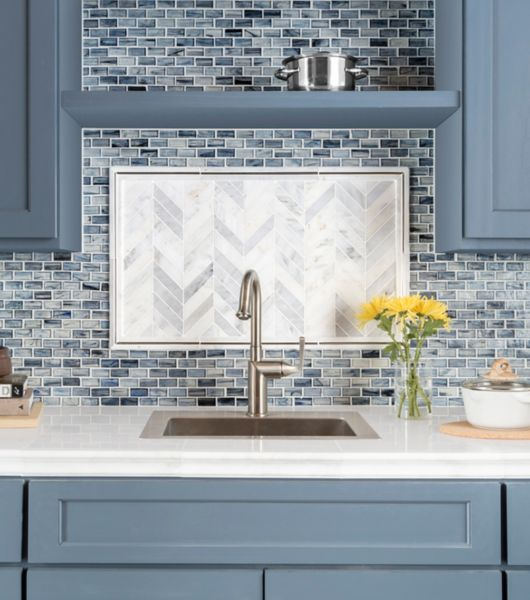 Mosaics Add Beauty To The Kitchen And Bathroom