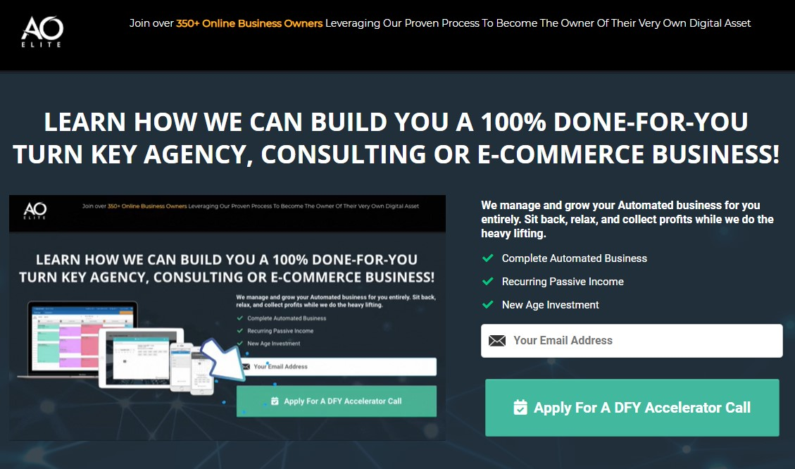 AO Elite Solves Agency, Consulting or E-Commerce Challenges with All-in-One Accelerator for Business Operations