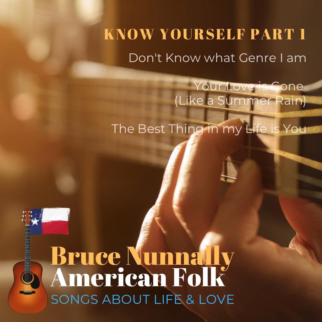 Folk Music Artist Bruce Nunnally Releases A New Single
