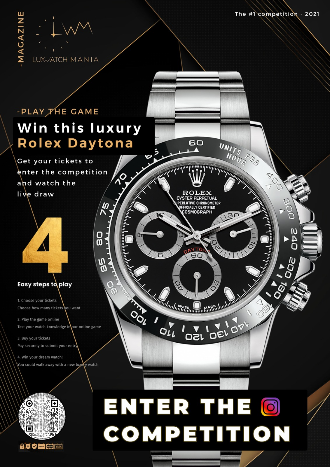 Lux Watch Mania To Offer Luxury Watches For Cheap Raffle Tickets
