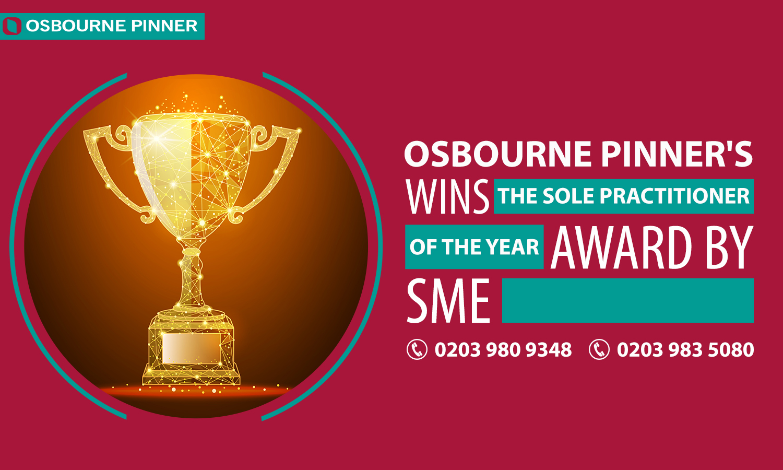 Osbourne Pinner Wins Another SME News Award