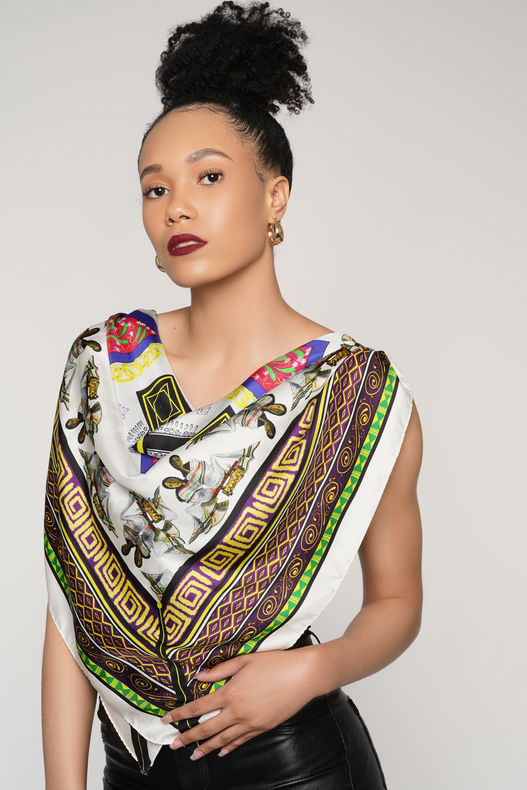 Silks Of Sheba Announces Physical Stores in South Africa and New York For Its African-inspired Scarf Designs
