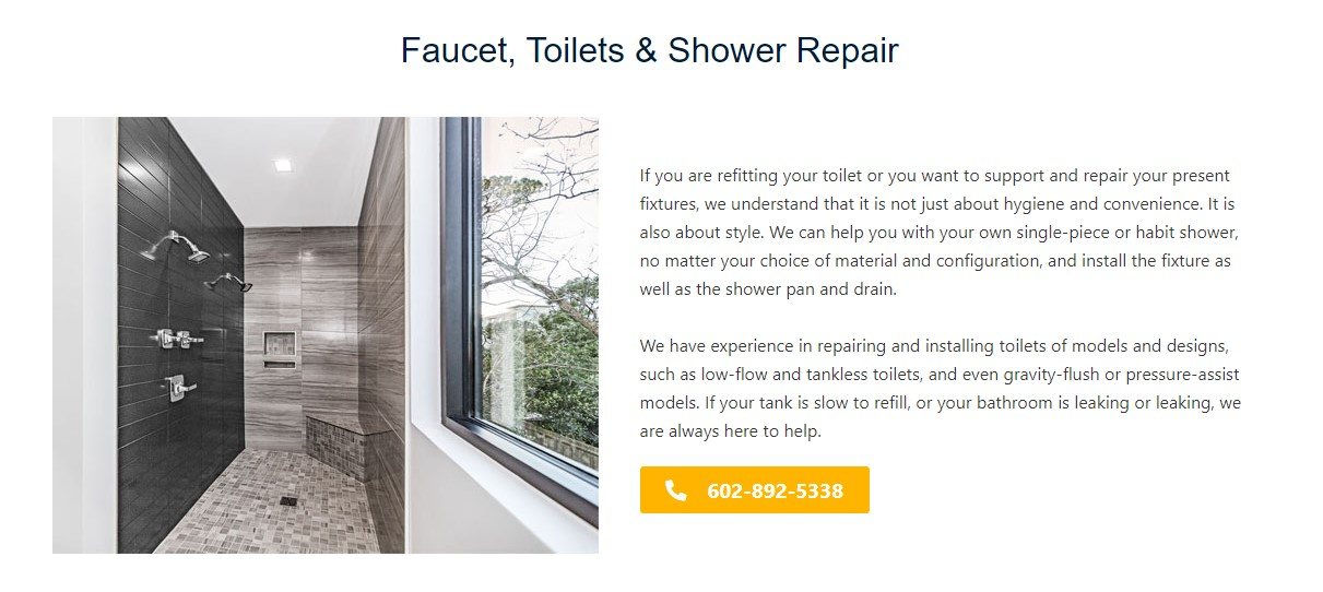 Einstein's Home Services' Professional Plumbers Approach Any Faucet Repair Problem