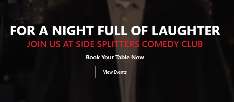 Make it Date Night at Side Splitters, Tampa's Premier Comedy Showcase