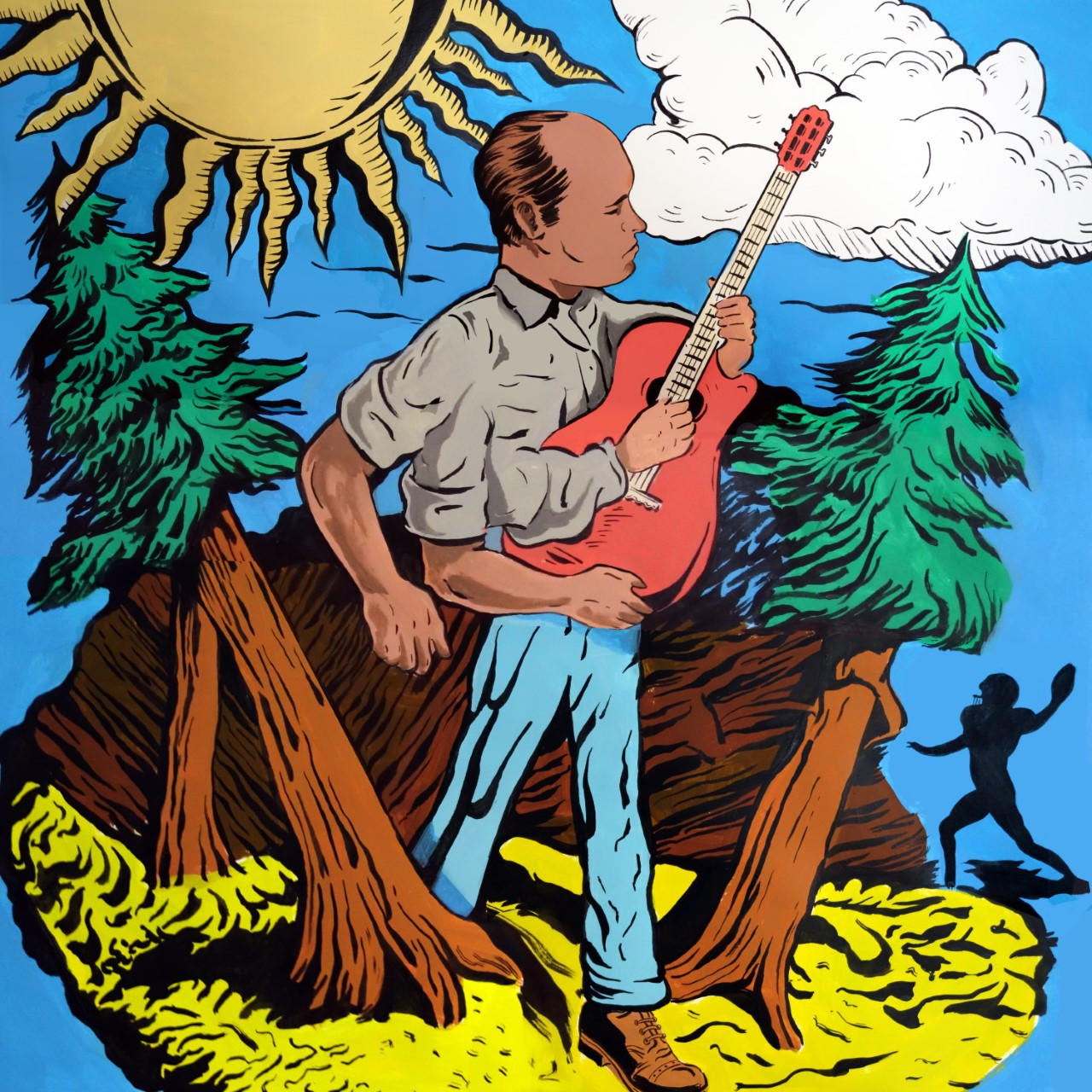 Acoustic and Alternative Rhythms Echoing Daniel Johnston: Outsider Artist and Sensation Andrew Neil Unveils New Album