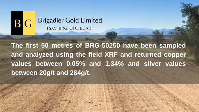 Brigadier (OTC Markets: BGADF) Makes Copper Discovery at Picachos