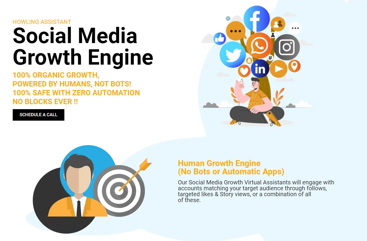 Howling Assistant Launches Social Media Growth Engine Powered by Humans - Not Bots