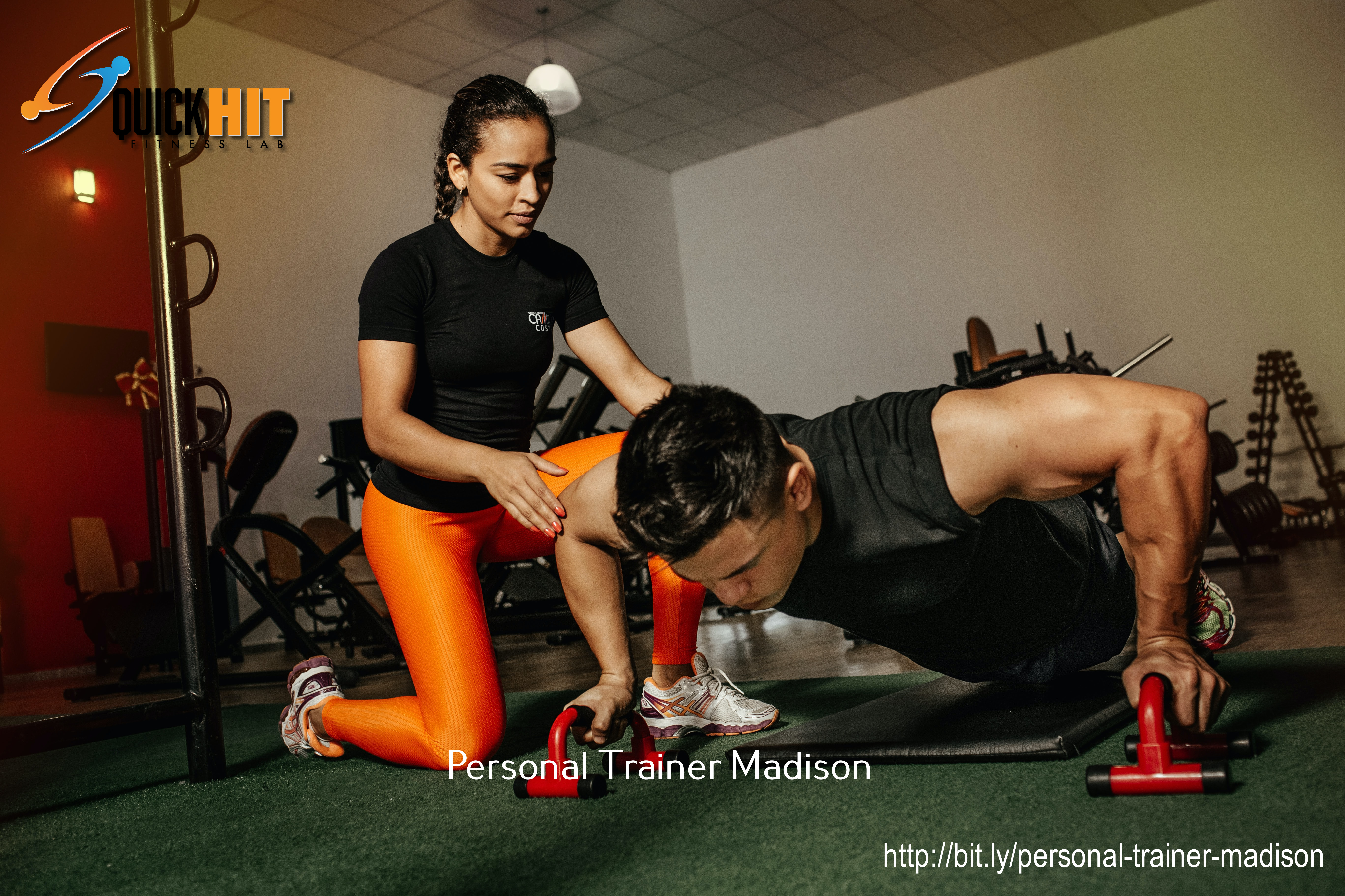 QuickHIT Fitness Lab-Madison Guides People on How They Can Train at Home