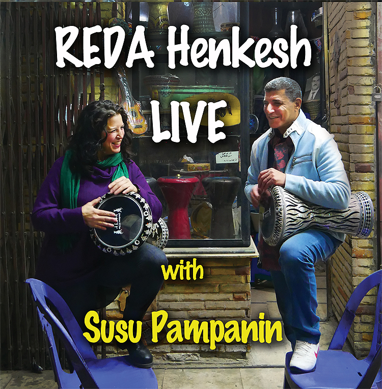 Reda Henkesh of The Henkesh Brothers is Back with A Mesmerizing New Live Album.