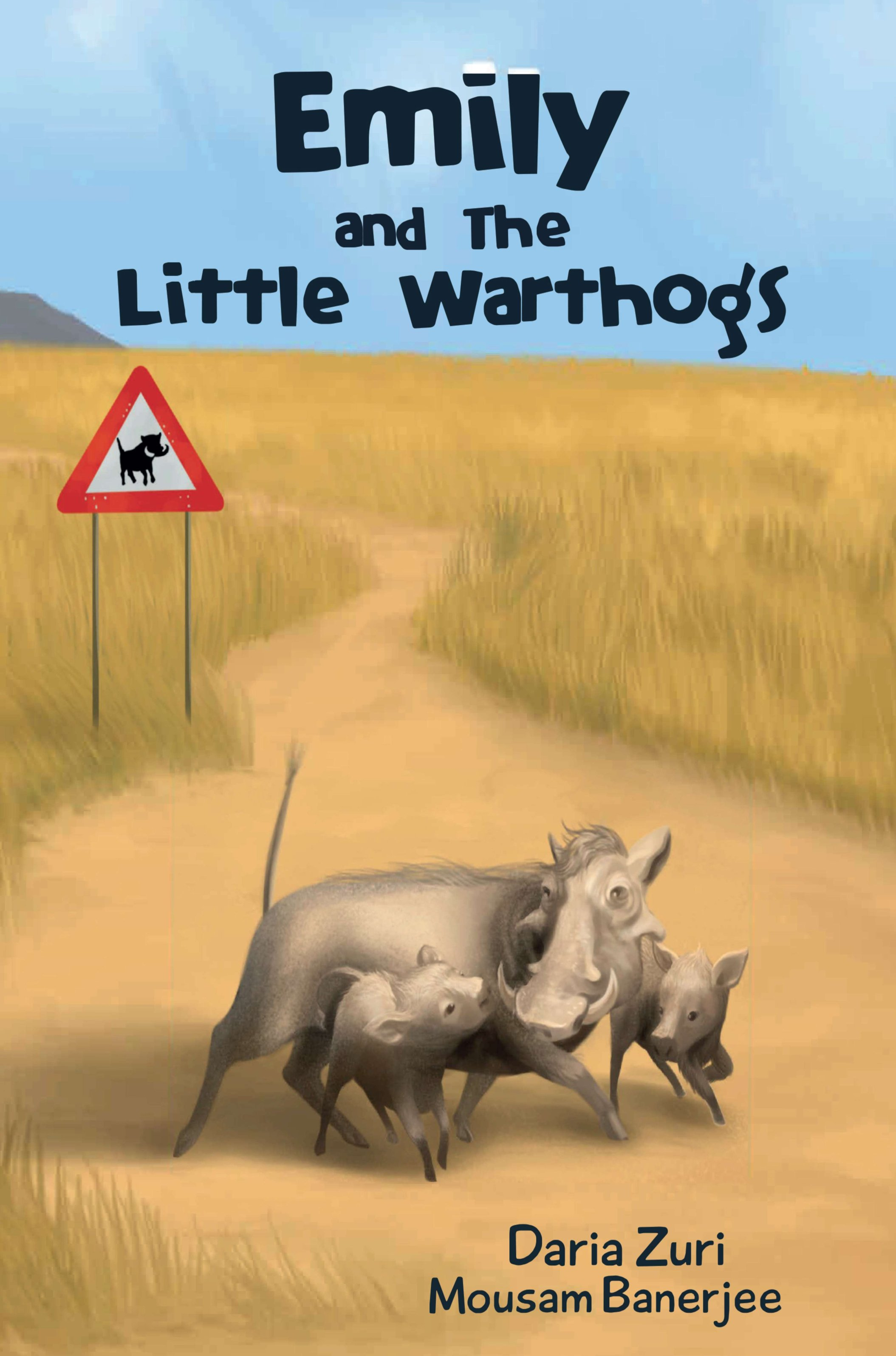 Emily and The Little Warthogs - Beautifully illustrated book for young readers