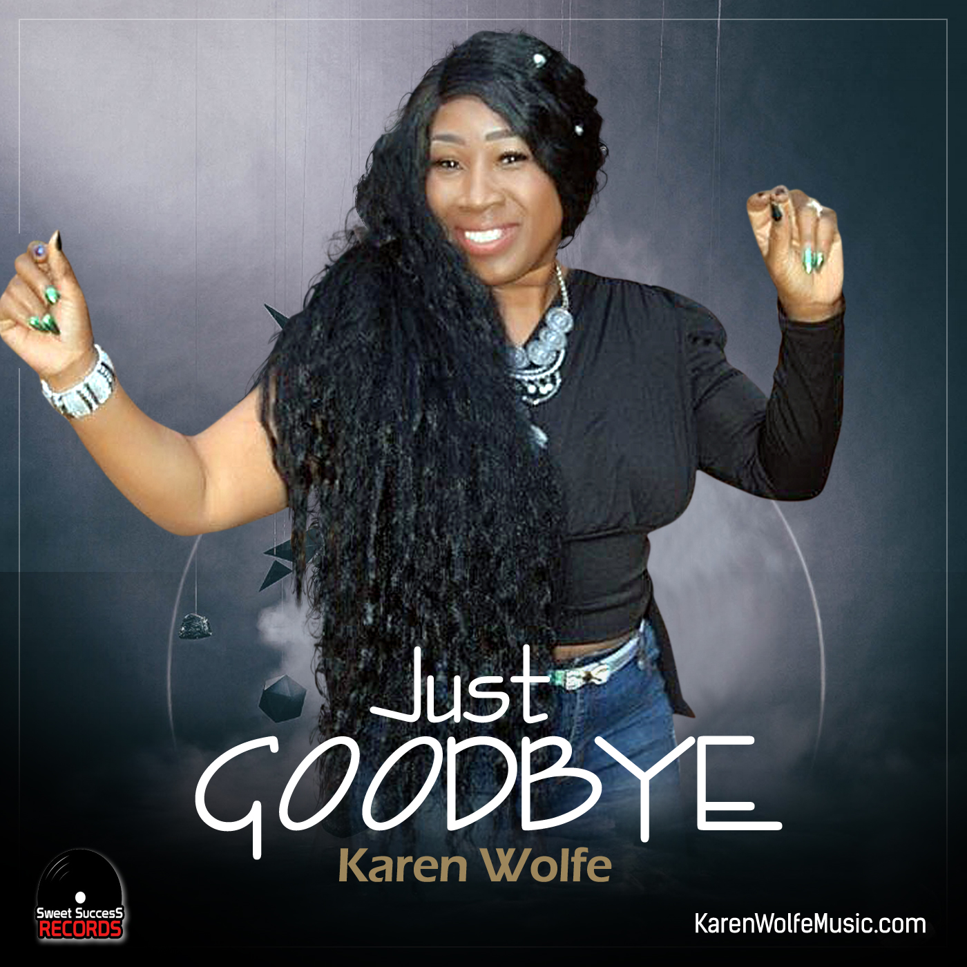 """Karen Wolfe Wastes No Time Taking Out the Trash in Her Powerful Single """"Just Goodbye"""""""