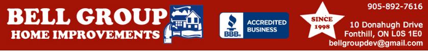 Bell Group Home Improvements Offers Top-Quality Steel Roofing with a 55-year Manufacturers Warranty in Niagara Region, Ontario