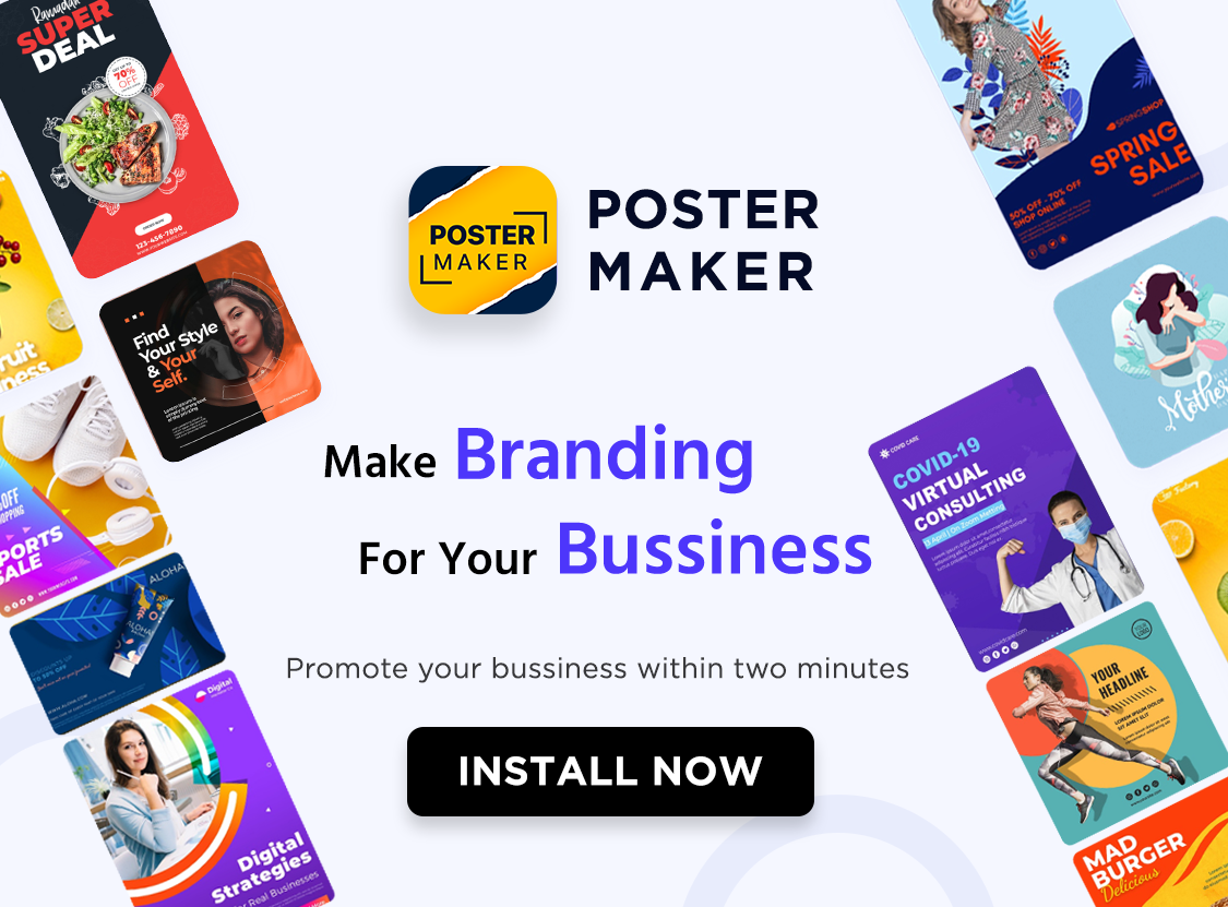 Brands Are Improving Advertising Designs With The Poster Maker Flyer App