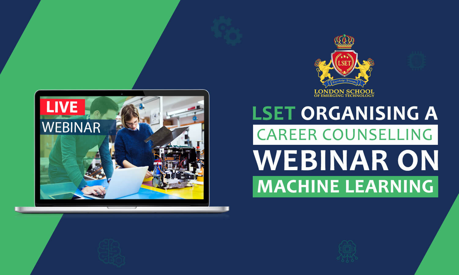 LSET is Organising a Career Counselling Webinar on Machine Learning