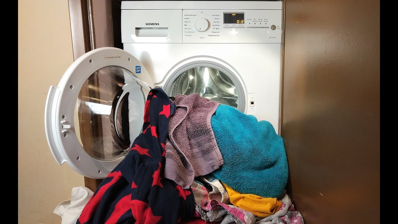 Overloading a Washer or Dryer Can Cause Mechanical Issues