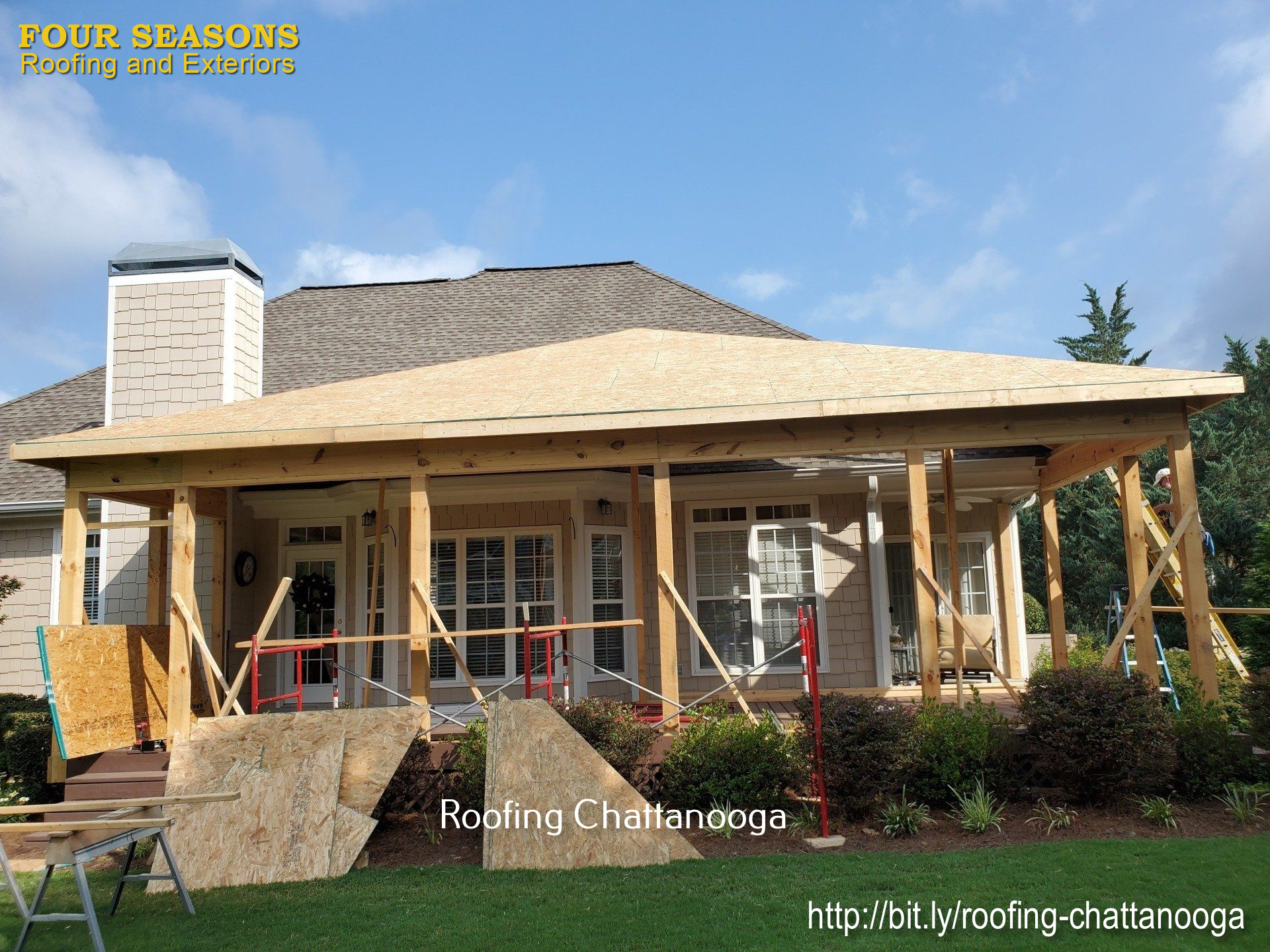 Four Seasons Exterior and Roofing Mention Services that People can Get From Them