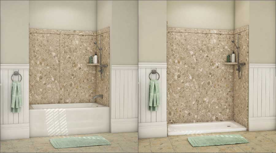 Homeowners See the Benefits of Converting Their Tubs to Showers
