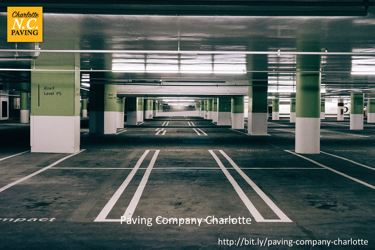 Charlotte NC Paving Highlights the Common Causes of Parking Lots Decline