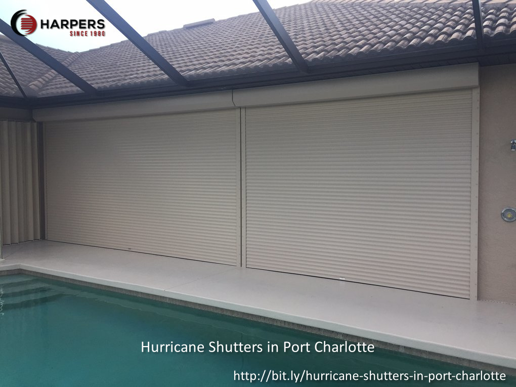 Harper's Hurricane Protection and Screen Enclosures Highlight the Benefits of Installing Hurricane Shutters in Punta Gorda