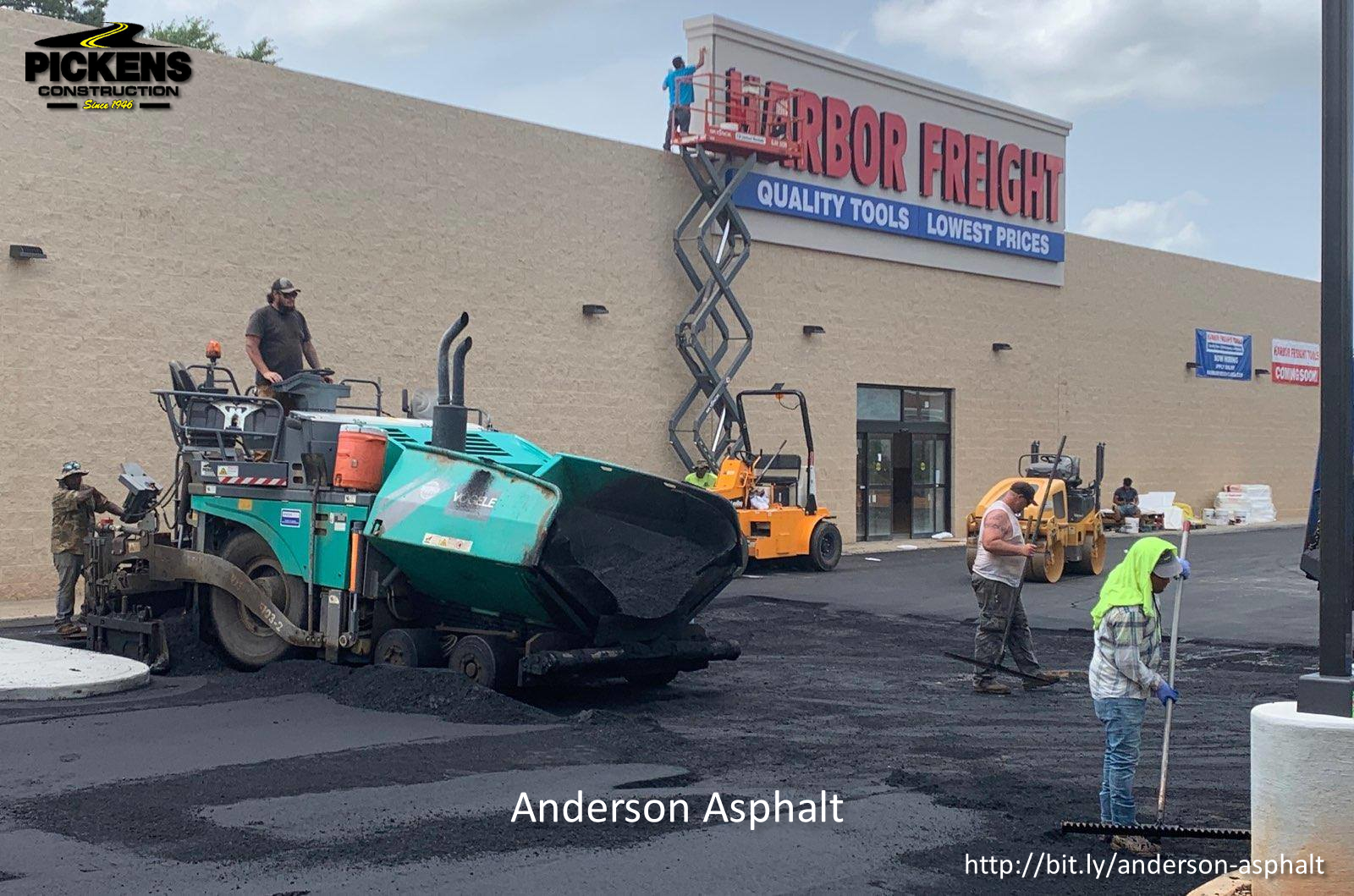 Pickens Construction Inc. is Now Offering Asphalt Sealing at Affordable Rates
