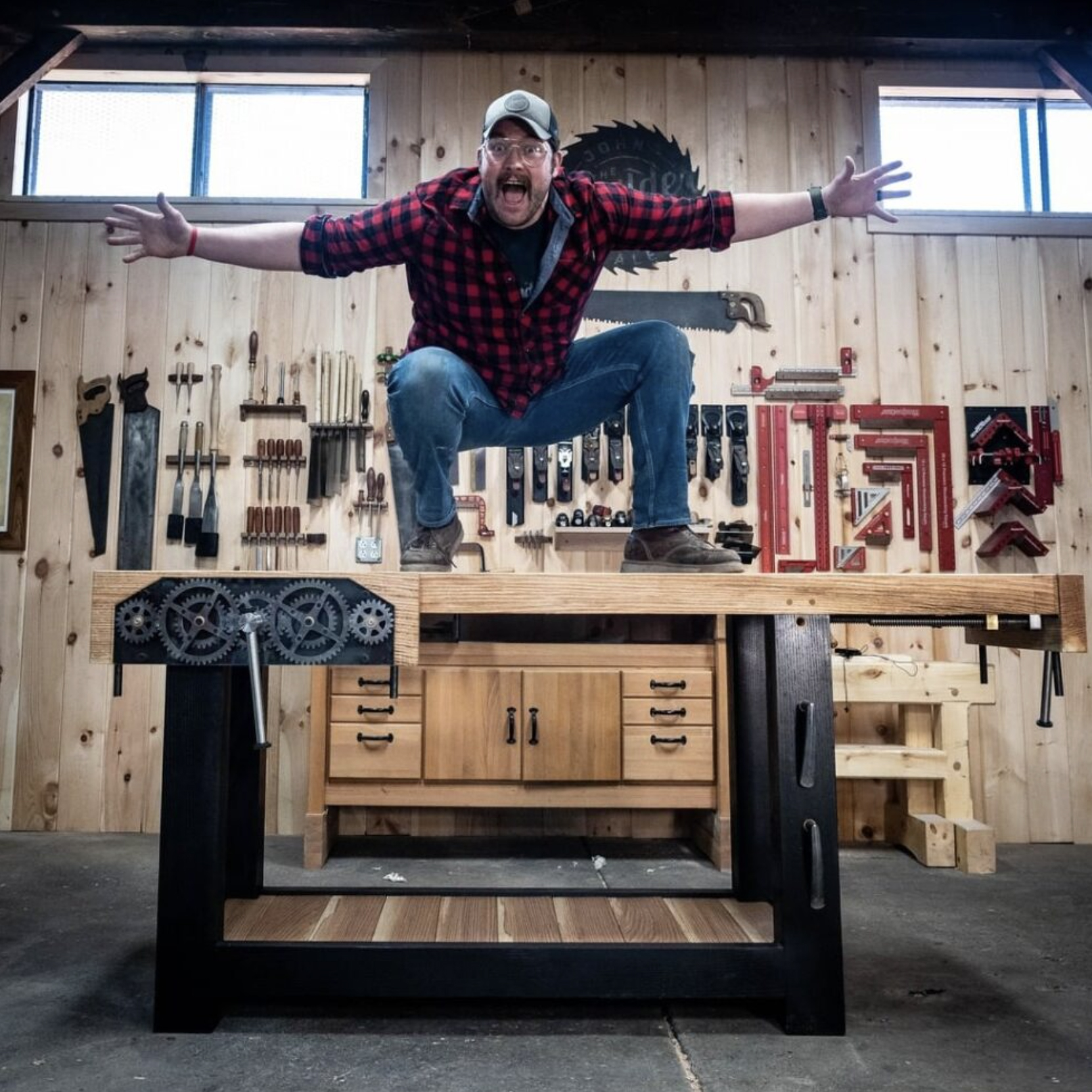 John Malecki: NFL Star turned His Hobby of Woodworking into a Full-Time Business & He is Inspiring the Next Generation of Wood Craftsmen