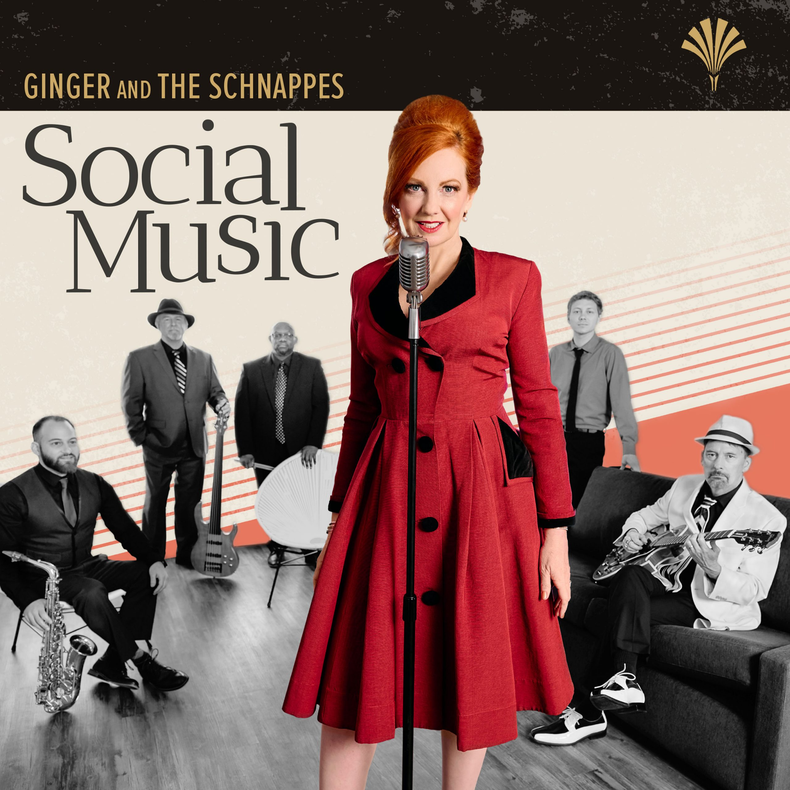"""""""Social Music,"""" An Entertaining Original Debut Album By Ginger and The Schnappes"""
