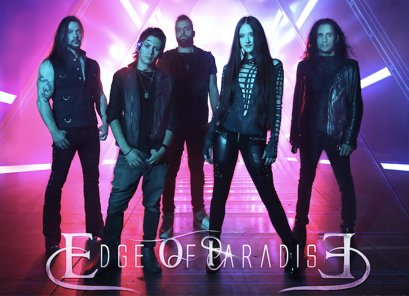 Edge Of Paradise Release New Music Video of the Title Track 'The Unknown' new Album out September 17