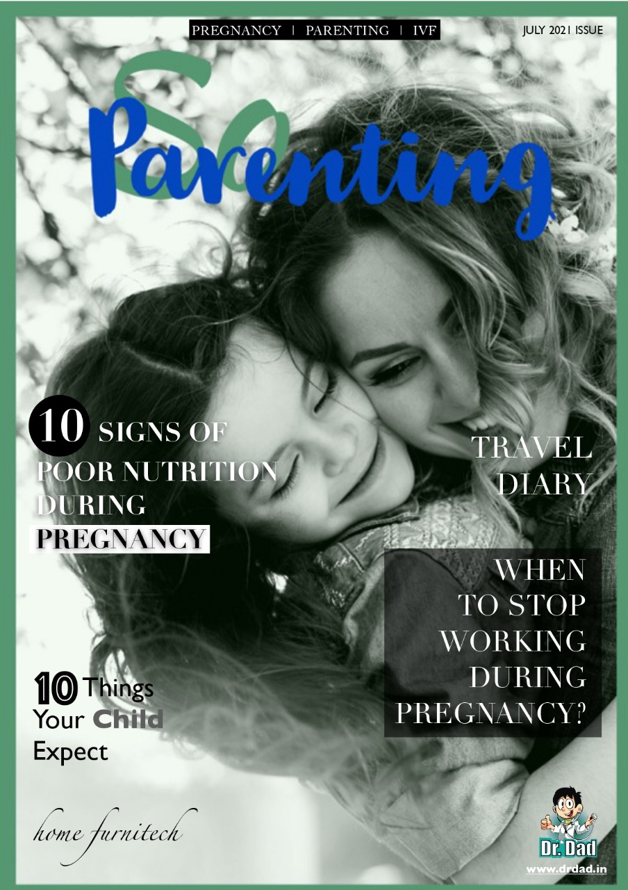 """Dr Dad's Newly Published Magazine """"So-Parenting"""" Provides Revolutionary Parenting Tips for New-Age Indian Parents"""