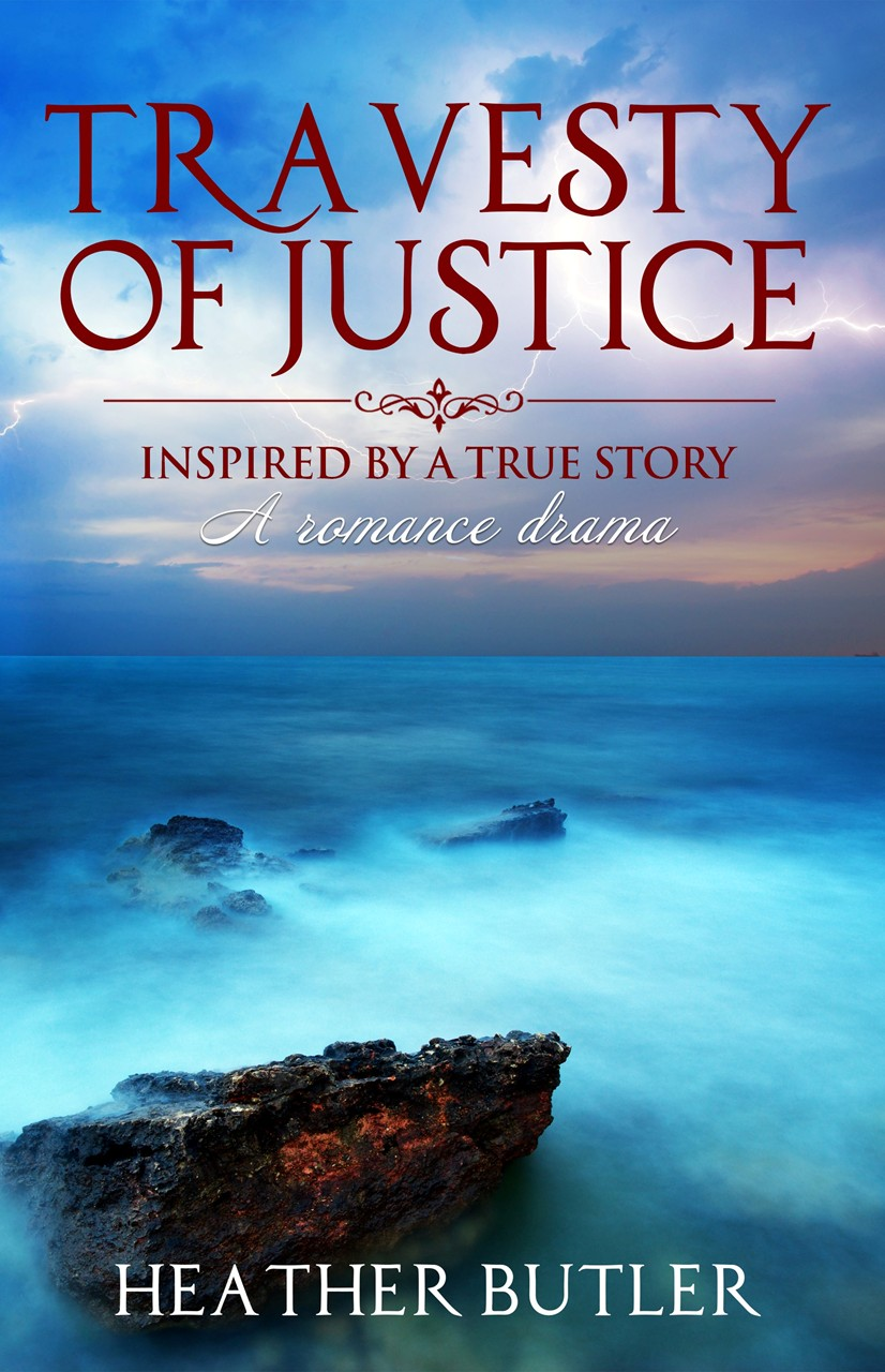 Designer Heather Butler of The Butler Collection Writes First Novel Travesty of Justice