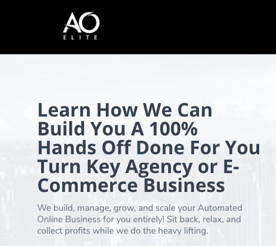AO Elite Provides Industry-Leading Digital Marketing Services for Online Retail